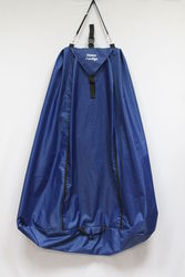 Чехол (портплед) для танцевальных костюмов. Темно-синий.